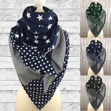 2020 клетчатый шарф женские зимние шали тёплый платок для детей