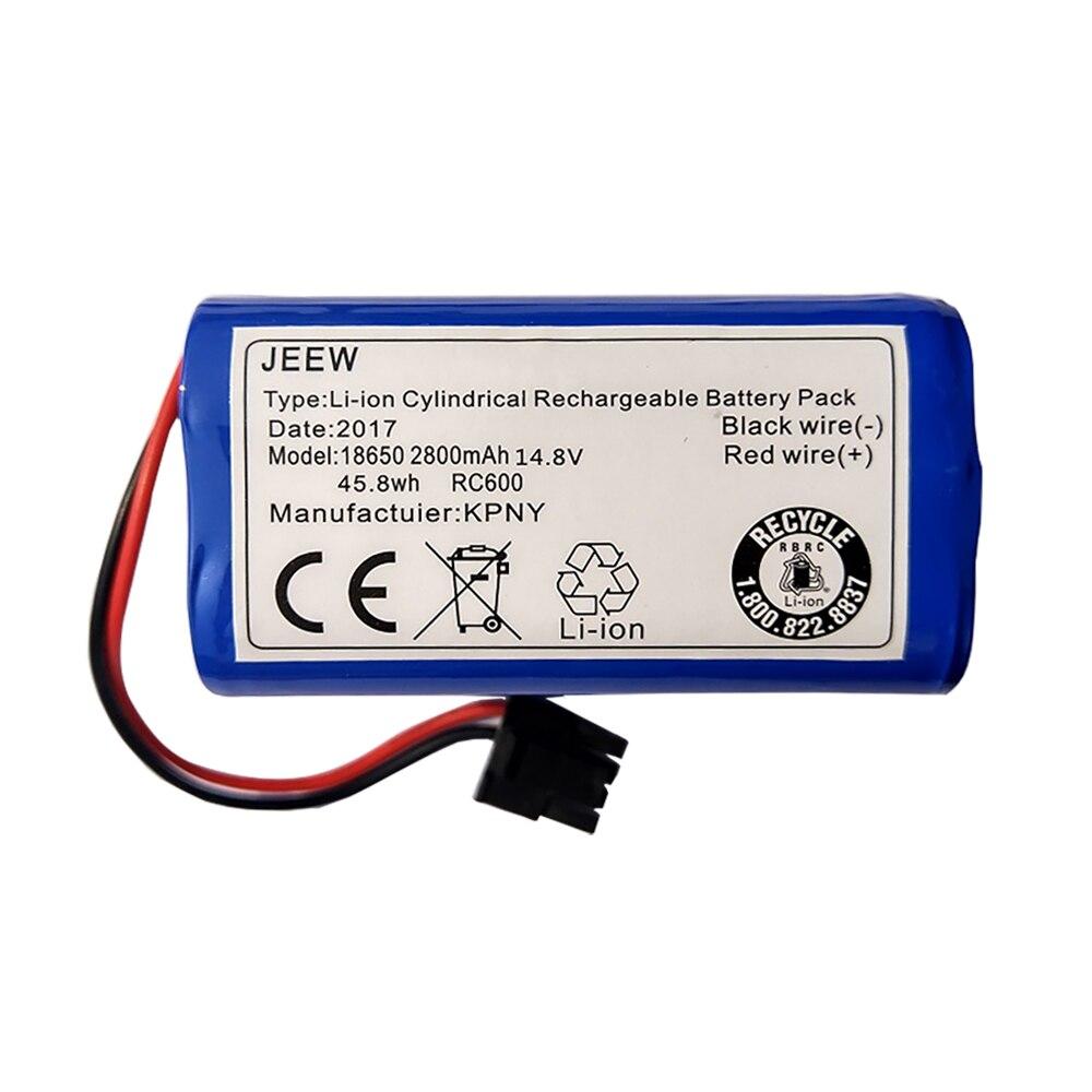 Для робота-пылесоса Ecovacs, зеркальная батарея CEN540, CEN546, CEN550, CEN640, CEN646, X500, X580, KK8, CR120, CR130, V780, V7, V7S