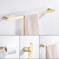 Paper Holders Euro style Bathroom Accessories Stainless Steel Bath Hardware Set Bathroom fitting Towel ring Towel ring DG8200 4