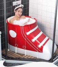 Креативная Портативная Складная Ванна домашняя семейная ванна
