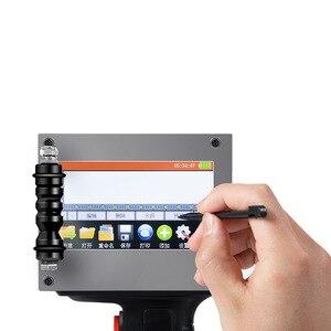 600DP Handheld Impressora Jato de tinta Para Imprimir A Data De Produção de Embalagens Número Codificador Digital de código de Barras QR CODE
