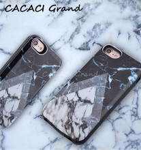 Marble Battery Case For iPhone 6 s 6s Power Bank Portable Charging 7 8 4.7 inch Charger Cover