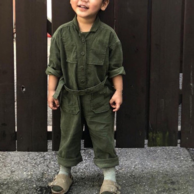 Autumn New Parent-Child Gentlemen's And Children's  Pants Han Parent-Child Clothes Pure Cotton Joint Pants