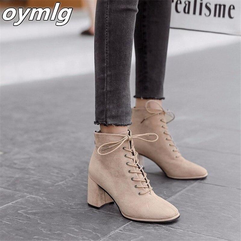 Bottes à talons hauts pour femmes, chaussures européennes à la mode, de haute qualité, avec fermeture éclair au dos, de couleur unie, 35 à 39, nouvelle collection automne hiver 2020
