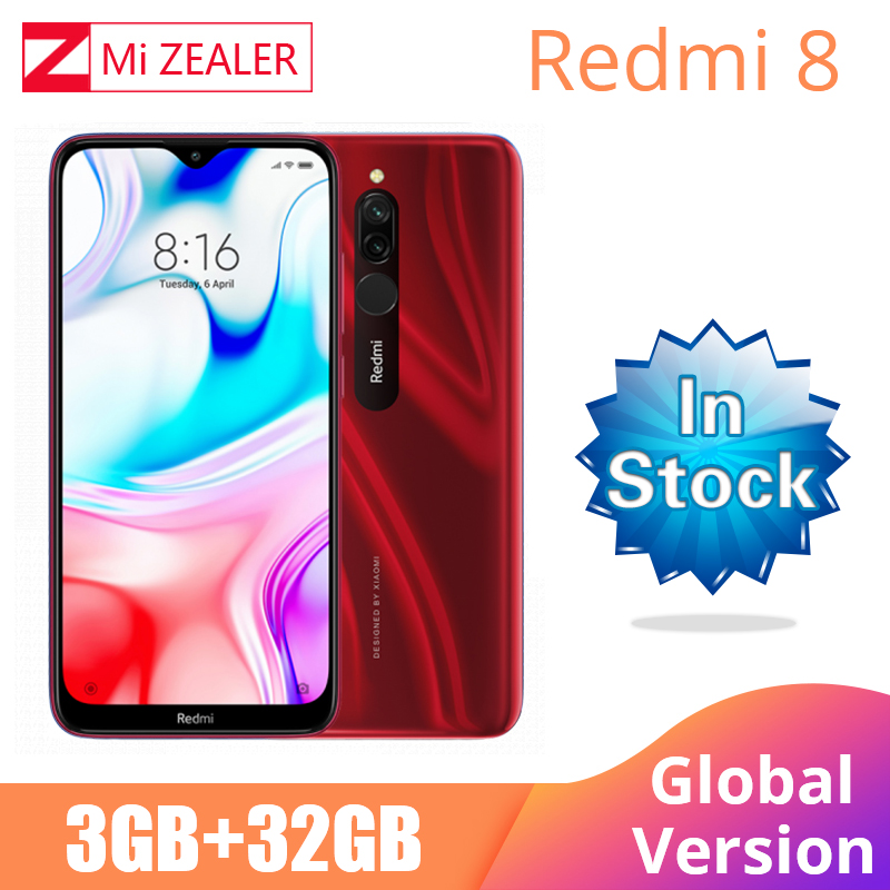2019 Global Version Xiao Redmi 8 Smartphone 3GB RAM 32GB ROM Snapdragon 439 6.22