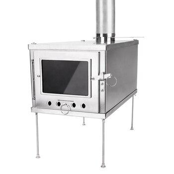 Titanium Wood Stove Accessories Spark Arrester Anti-sag Floor Glass Panel Chimney anti-scalding hood accessories - discount item  30% OFF Kitchen,Dining & Bar