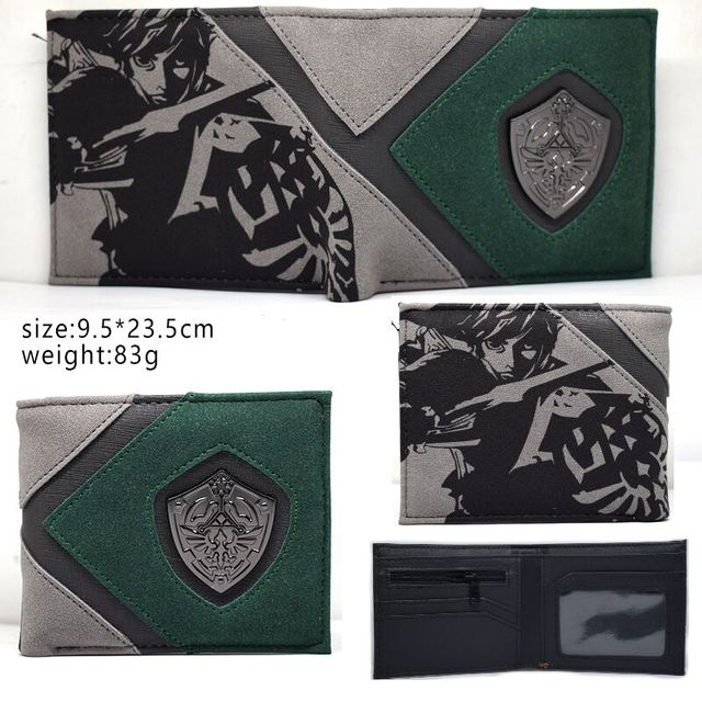New Arrival Game  Wallet Cute Men's Short Purse High Quality With Coin Pocket for Young and Boy SE 2