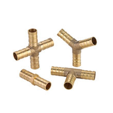 Brass Joint for Water Tower Hose, 4mm, 5mm, 6mm, 8mm, 10mm, 12mm, 16mm and 19mm Water Fittings Copper Pipe Fittings
