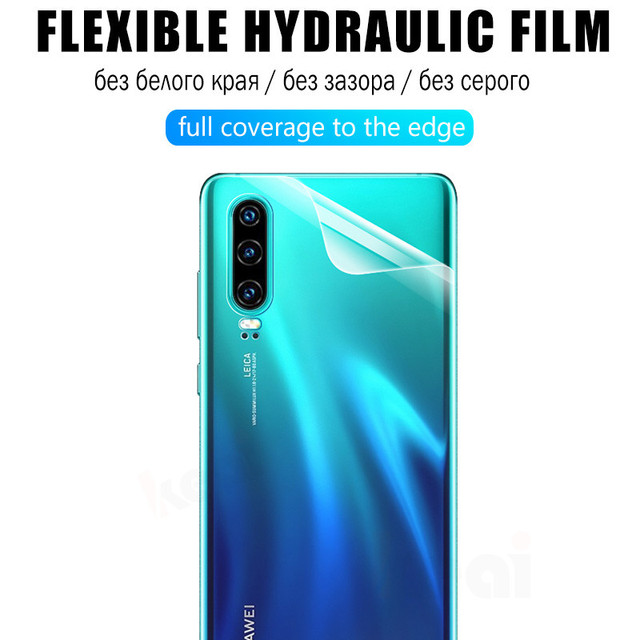 10D Front Back Soft Hydrogel Film For Huawei P30 Pro P20 Lite P Smart Z Screen