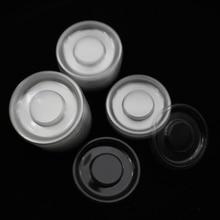 100 шт оптом круглый прозрачный лоток для ресниц пластиковый прозрачный облегающее полотно лоток для упаковочная коробка для ресниц контейнер