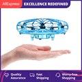 Mini Hubschrauber RC UFO Eders Flugzeug Hand Sensing Infrarot RC Quadcopter Elektrische Induktion Spielzeug für Kinder Mini Drone