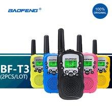 Детская мини рация baofeng t3 2 шт/лот детская радиостанция