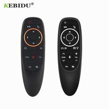 Kebidu G10 エアマウス音声制御 2.4ghzワイヤレスジャイロ感知ゲーム音声制御スマート用テレビボックス