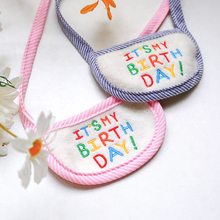 Pet-Accessories Birthday Cat Dogs for Scarf Pet-Products Bibs