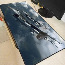 MRGBEST Air Force Plane Gaming Mouse Large  Pad Gamer Notebook Computer pad Mats Office Desk Resting Surface Mat Game