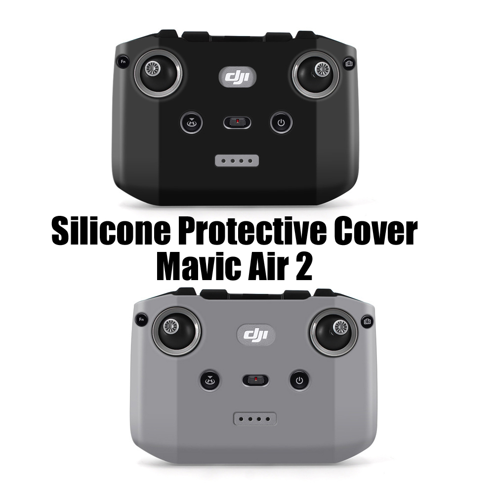DJI Remote Controller Dust-proof Silicone Protective Cover Scratch-proof for DJI Mavic Air 2 RC Transmitter Control Accessories