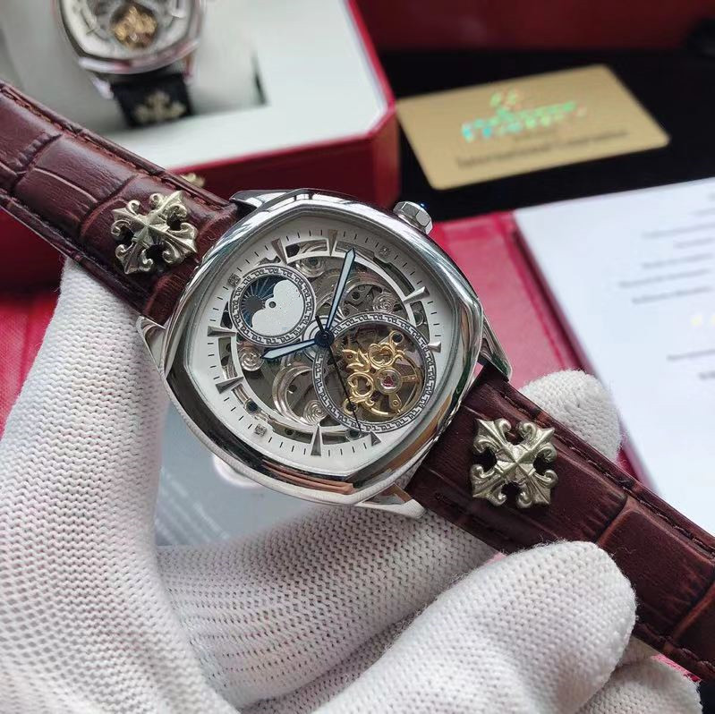 WG09384   Mens Watches Top Brand Runway Luxury European Design Automatic Mechanical Watch|Mechanical Watches| |  - title=