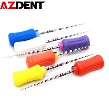 6 teile/satz Dental Endodontie Dateien Zahnarzt Werkzeuge für Wurzelkanal Reinigung Wärme Aktivierung in Zähne Wittling Hand Verwenden Zahnarzt Werkzeuge