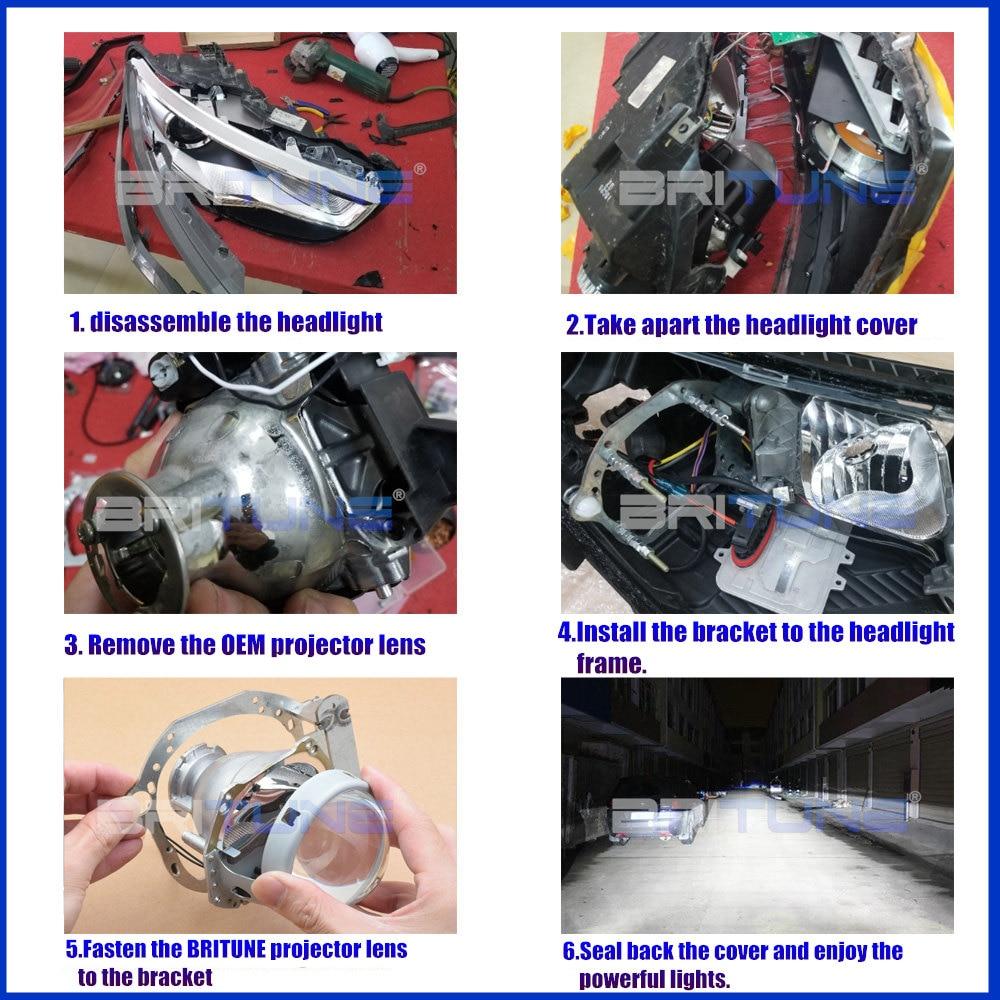 H4 Bi-Xenon HID Conversion Kit Hyundai Accent 1997