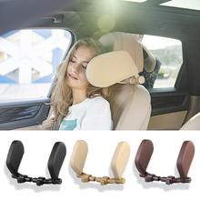 Detachable Car Seat Pillow w/ Retractable Support Rod Headrest Neck Support Travel Sleeping Cushion Kids Adults Car Seat Pillows все цены
