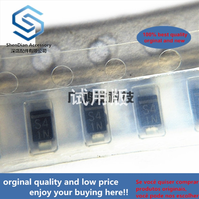 10pcs 100% Orginal New FPSN4TP Rectifier Diode 400V0.7A SMD SOD-123 1206