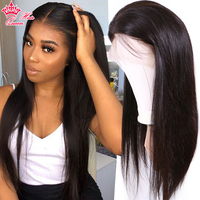 360 Lace Frontal Wigs Straight For Black Women with Baby Hair Brazilian Human Hair wig Lace Front Wig Queen Hair Products