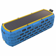 цена на Solar Powered Wireless Bluetooth Speaker Portable IPX5 Waterproof with LED light and Built-in Mic Compatible for Samsung iPhone
