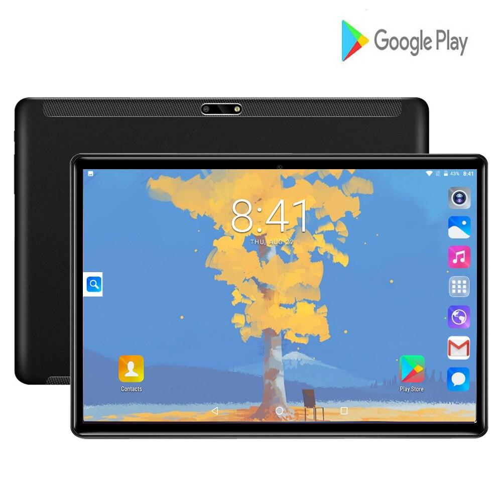 2020 Fast Shipping Android 7.0 Tablet PC Tab Pad 10 Inch IPS Quad Core 32GB ROM Dual SIM Card LTD Phone Call 10.1