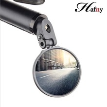 Bike Mirrors Hafny  Back Review Handlebar End Cycling Mirror For MTB Road Riding Racing Steel High Quality