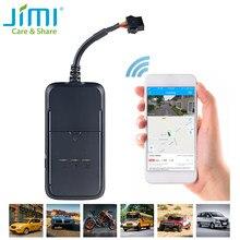 Jimi jv200 mini veículo tracker em tempo real anti-roubo gps localizador global veículo rastreador para caminhão/táxi/motor/gestão da frota