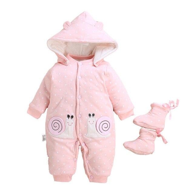 Newborn Baby Winter Snowsuit 4