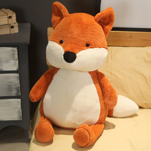Hot Huggable Kawaii Fox Doll Stuffed Animal Plush Toys for Children Girl Boy Kids Cute Dox Gift Soft Cartoon Christmas Presents