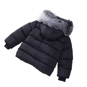 Image 5 - Baby Boys Jacket Fashion Autumn Winter Jacket Coat Kids Warm Thick Hooded Children Outerwear Coat Toddler Boy Girls Clothing