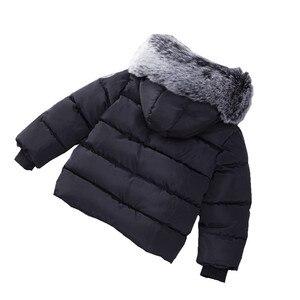 Image 5 - Baby Jongens Jas Mode Herfst Winter Jas Jas Kids Warme Dikke Hooded Kinderen Bovenkleding Jas Peuter Jongen Meisjes Kleding