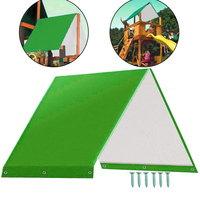 Mancha impermeável sombra canopies capa substituição lona telhado crianças playground uv protetor vj-drop