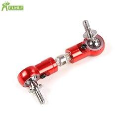 Alloy CNC Pull Rod Steering Servo Arm Fit for 1/5 HPI ROFUN ROVAN KM BAJA 5B 5T 5SC Losi 5ive T Rc Car Parts
