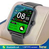 2021 New Bluetooth Call Smart Watch Men Women Smartwatch ECG Fitness Tracker Waterproof 1.69 inch touch screen For Android iOS