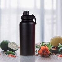 Boquilla con tapa de 2 piezas para frasco hidráulico  boca ancha  deportes  botella de agua  aleta ancha  mango grande  fácil de llevar  Compatible con la mayoría de las wifi