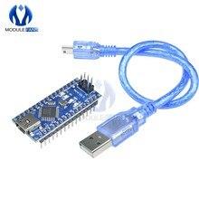 Nano placa para arduino uno r3, mini usb au sem v3.0 3.0 ft232 chip atmega328 ����16 m 16mhz cabo usb i/o