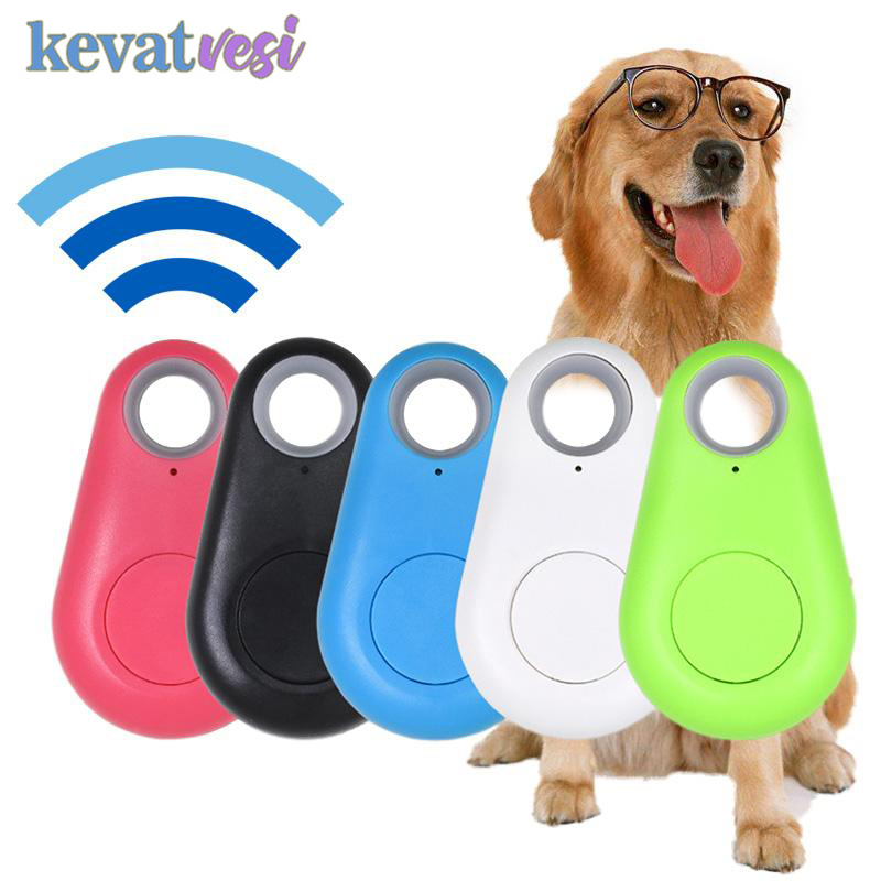 Smart Pet GPS Tracker Anti lost Portable Bluetooth Tracker for Pet Dog Cat Alarm Trackers Keychain Wallet Kids Finder Equipment(China)