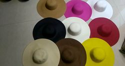 Nouveau produit chapeaux de paille madame loisirs aller sur un voyage chapeau de paille en plein air en vacances crème solaire sera avant-toit chapeau de soleil