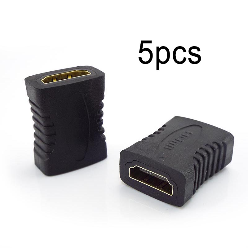 5 шт. женский Столярный, совместимому с HDMI соединитель расширителя адаптер переходник удлинитель для портативных ТВ Телевизор 1080P 4K * 2K 3D