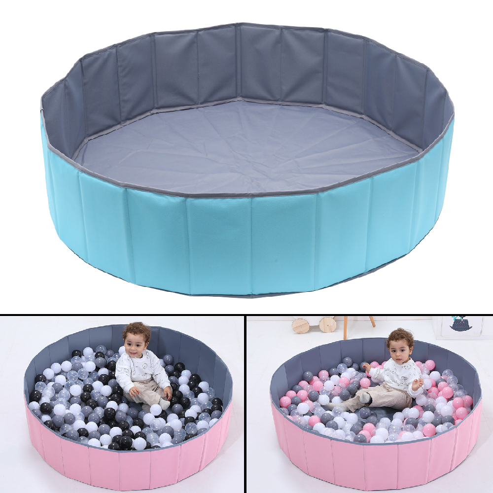 Infant Children Play Game Tents Pits Foldable Ocean Ball Pool Without Ball Playpen Toy Washable Folding Fence Kids Birthday Gift