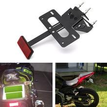 Apto para kawasaki z900 2017-2020 cauda traseira tidy número titular da placa de licença motocicleta fender eliminator kit z900 2017 2018-2020