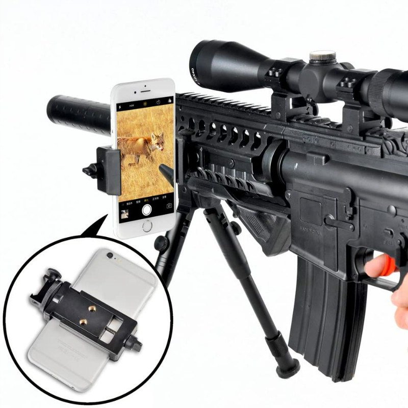 Quick photography Rifle Scope phone Holder Mounting Shoot Scope Mount Adapter for Night vision Gun Scope Airgun Scope Display