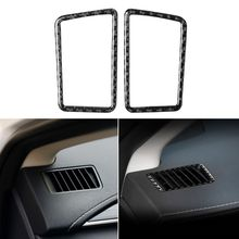 Instrument air outlet decorative carbon fiber sticker for Lexus NX 200 200t 300h