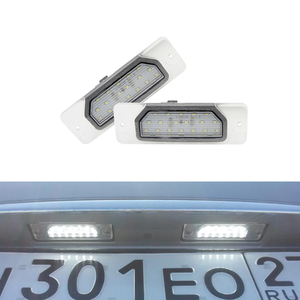 Auto Car 18Led License Plate Light Number Lights Lamp For Nissan CEFIRO A33 99-03 Fuga 09- Led Tail Back Lamps Direct Replace(China)