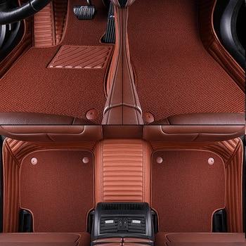 Car floor mats for Volkswagen Polo Touran Lavida Beetle  VW CC Eos Golf Jetta Passat TiguanTouareg sharan Multivan Aviation mat