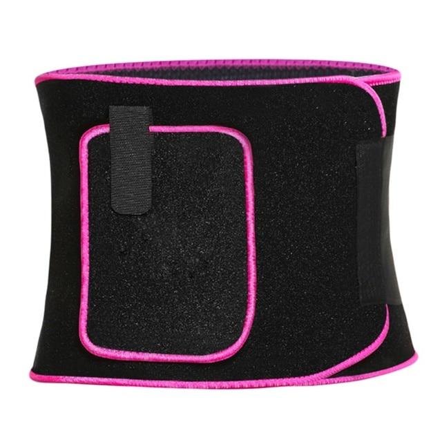 Waist Trimmer Protector Belt Weight Loss Sweat Band Wrap Fat Tummy Stomach Sauna Sweat Belt With Calf Suppor