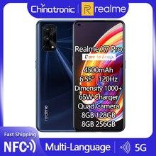 Original realme X7 Pro 6GB 128GB 5G Handy Octa Core 6.55